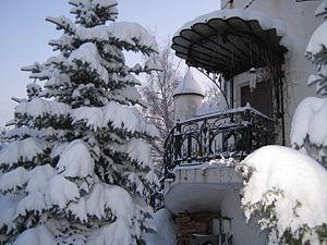 Замок Белого Слона, крыльцо. Дизайн М. Н. Колотило