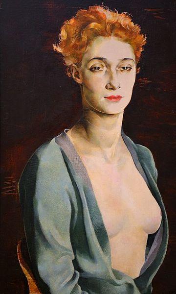 Н. Альтман. Портрет И.Дега. 1927