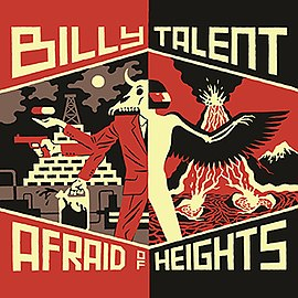 Обложка альбома Billy Talent «Afraid of Heights» (2016)