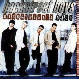Обложка альбома Backstreet Boys «Backstreet's Back» (1997)