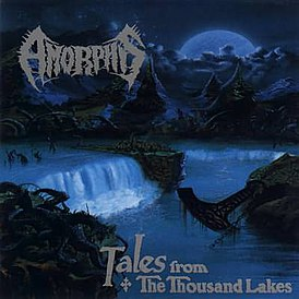 Обложка альбома Amorphis «Tales from the Thousand Lakes» (1994)