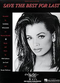 Обложка сингла «Save the Best for Last» (Vanessa Williams, 1992)