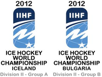 Логотипы 2012 IIHF Ice Hockey World Championship Division II