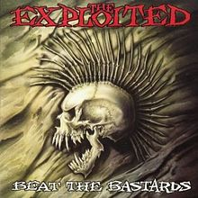 Обложка альбома The Exploited «Beat the Bastards» (1996)