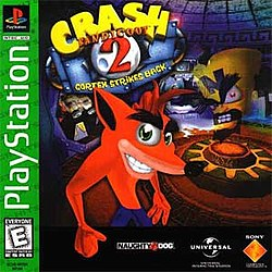 Crash Bandicoot 2 Cortex Strikes Back front NA cover.jpg