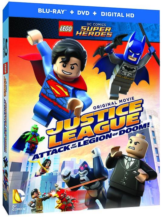 Lego супергерои Dc лига справедливости атака легиона