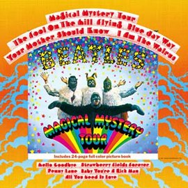 Обложка альбома The Beatles «Magical Mystery Tour» (1967)