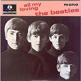 Обложка альбома The Beatles «All My Loving» (1964)