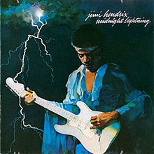 Обложка альбома Jimi Hendrix «Midnight Lightning» (1975)