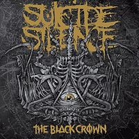 Обложка альбома Suicide Silence «The Black Crown» (2011)
