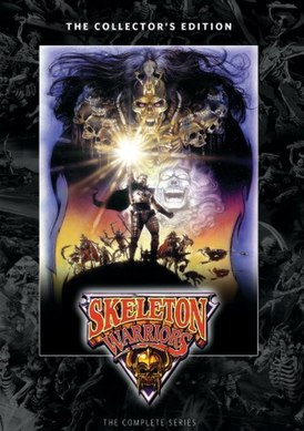 "Poster of the animated series ""Skeleton Warriors"" .jpg"