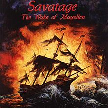 Обложка альбома Savatage «The Wake of Magellan» (1998)
