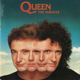 Обложка альбома Queen «The Miracle» (1989)