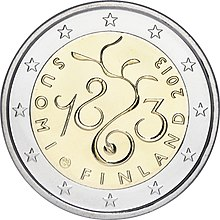 €2 commemorative coin Finland 2013 The Diet of 1863.jpg
