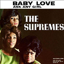 Обложка сингла «Baby Love» (The Supremes, 1964)
