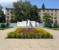 Monument to Alexander Blokhin in Ishimbay.JPG