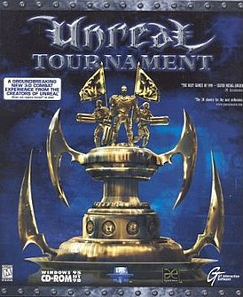 Обложка диска Unreal Tournament для ПК