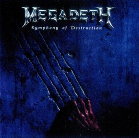Обложка сингла Megadeth «Symphony of Destruction» (1992)
