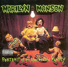 Обложка альбома Marilyn Manson «Portrait of an American Family» (1994)