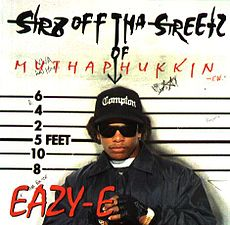 Обложка альбома Eazy-E «Str8 off tha Streetz of Muthaphukkin Compton» (1995)