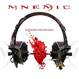 Обложка альбома Mnemic «The Audio Injected Soul» (2004)