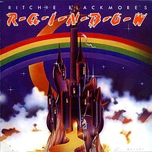 Обложка альбома Rainbow «Ritchie Blackmore's Rainbow» (1975)