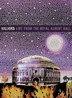 Обложка альбома The Killers «Live from the Royal Albert Hall» (2009)