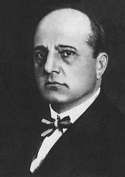 茹科夫斯基的肖像
