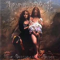 Обложка альбома Anorexia Nervosa «New Obscurantis Order» (2001)