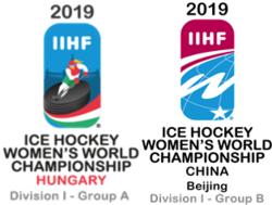 2019 IIHF Ice Hockey Women's World Championship Division I Logo.png