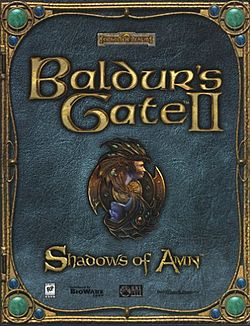 Обложка для Baldur's Gate II: Shadows of Amn