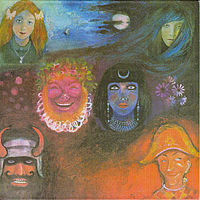 Обложка альбома King Crimson «In the Wake of Poseidon» (1970)