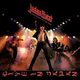 Обложка альбома Judas Priest «Unleashed in the East» (1979)