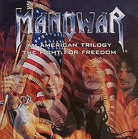 Обложка сингла «An American Trilogy» (Manowar, 2002)
