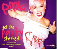 Обложка сингла «Get the Party Started» (Pink, 2002)