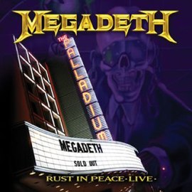 Обложка альбома Megadeth «Rust in Peace Live» (2010)