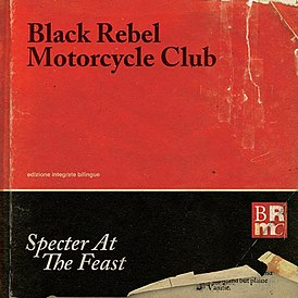 Обложка альбома Black Rebel Motorcycle Club «Specter at the Feast» (2013)