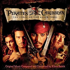 Обложка альбома «Pirates of the Caribbean: The Curse of the Black Pearl Original Motion Picture Soundtrack» ()