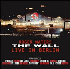 Обложка альбома Роджера Уотерса «The Wall: Live in Berlin» (1990)