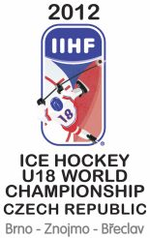 Логотип 2012 iihf ice hockey u18 world chionship