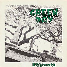 Обложка альбома Green Day «39/Smooth» (1990)