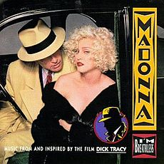 Обложка альбома Мадонны «I'm Breathless: Music from and Inspired by the Film Dick Tracy» (1990)