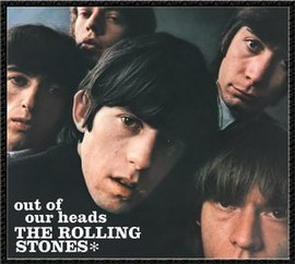 Обложка альбома The Rolling Stones «Out of Our Heads» (1965)