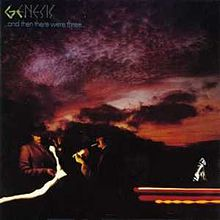Обложка альбома Genesis «...And Then There Were Three...» (1978)
