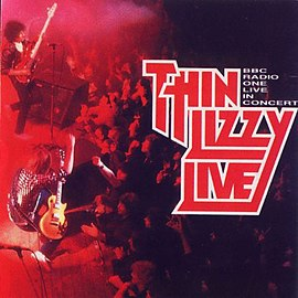 Обложка альбома Thin Lizzy «BBC Radio One Live in Concert» (1994)