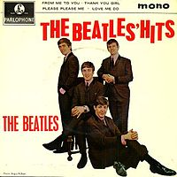 Обложка альбома The Beatles «The Beatles' Hits» (1963)