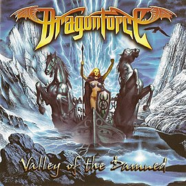 Обложка альбома Dragonforce «Valley of the Damned» (2003)