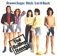Обложка сингла «Brown Sugar» (The Rolling Stones, 1971)