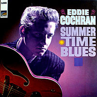 Обложка сингла «Summertime Blues» (Эдди Кокрана, 1958)