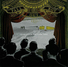 Обложка альбома Fall Out Boy «From Under the Cork Tree» (2005)